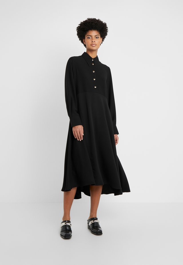 ROSA DRESS - Shirt dress - black