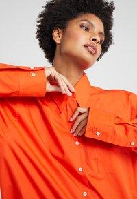 Rika - BLAZE  - Button-down blouse - orange - 4