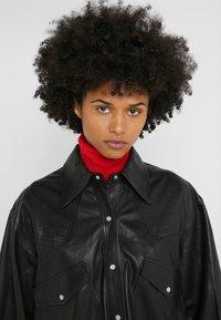 Rika - GRACE SHIRT - Overhemdblouse - black - 3