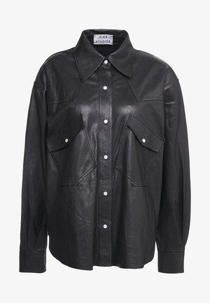 GRACE SHIRT - Skjorta - black