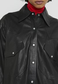 Rika - GRACE SHIRT - Overhemdblouse - black - 4