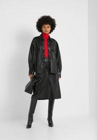 Rika - GRACE SHIRT - Overhemdblouse - black - 1