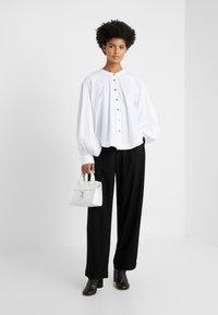 Rika - JOAN - Button-down blouse - white - 1