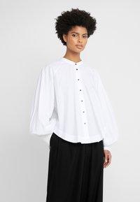 Rika - JOAN - Button-down blouse - white - 0