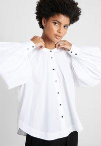 Rika - JOAN - Button-down blouse - white - 5