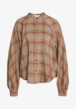 SOLLER - Košile - brown/red