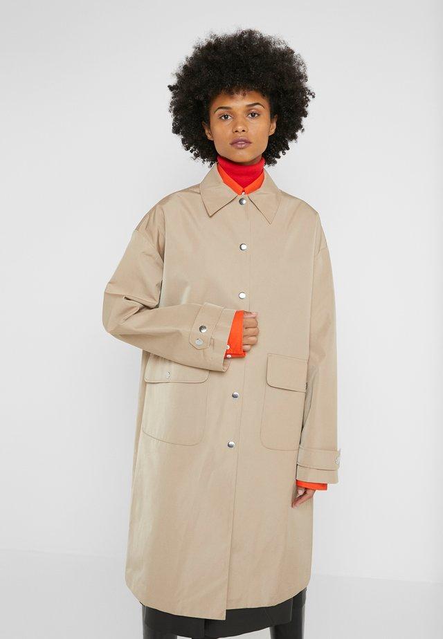 EVEN COAT - Trenchcoat - khaki