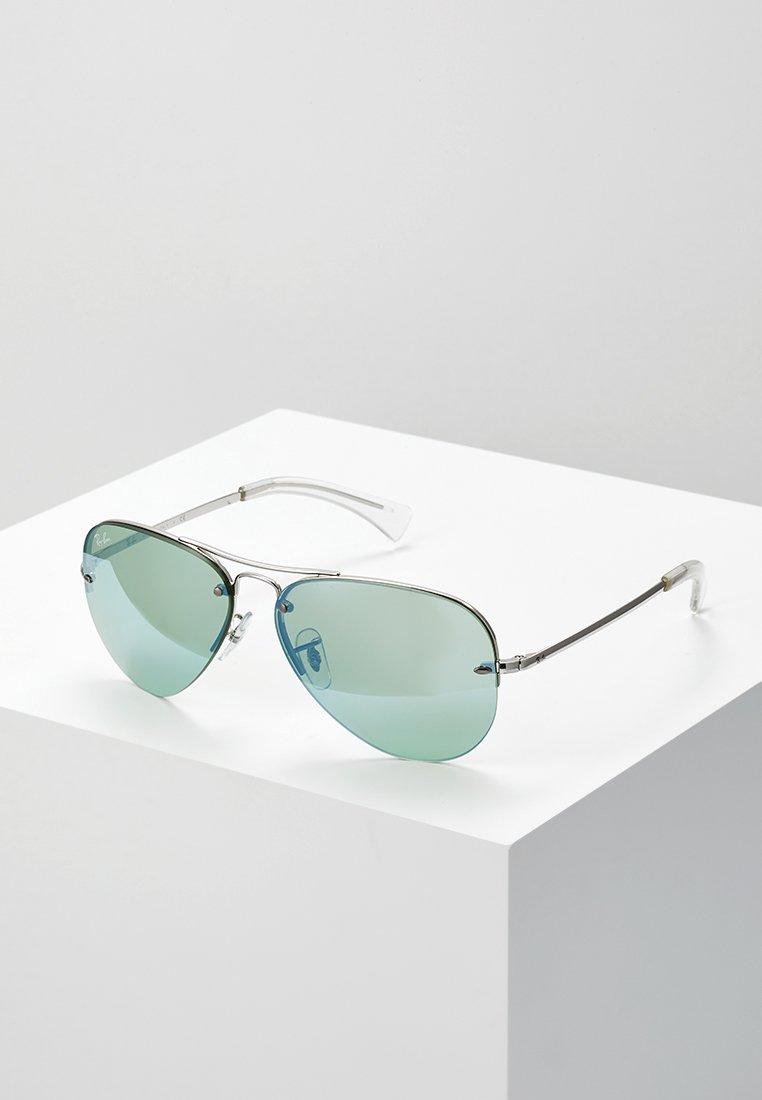 Ray-Ban - Lunettes de soleil - green flash/silver-coloured