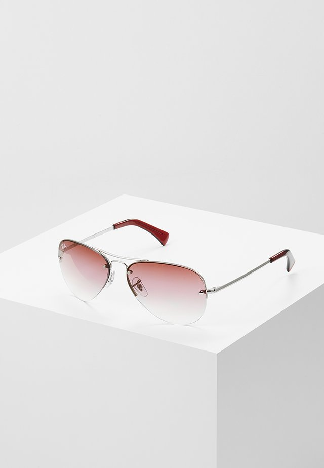 Solbriller - silver-coloured