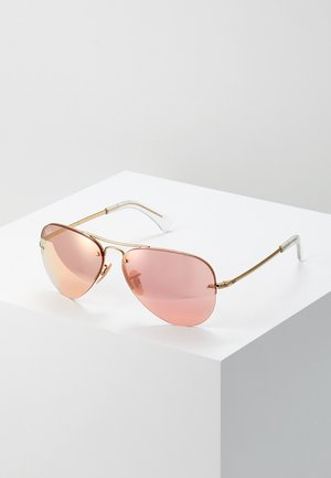 Gafas de sol - gold-coloured/pink flash/copper