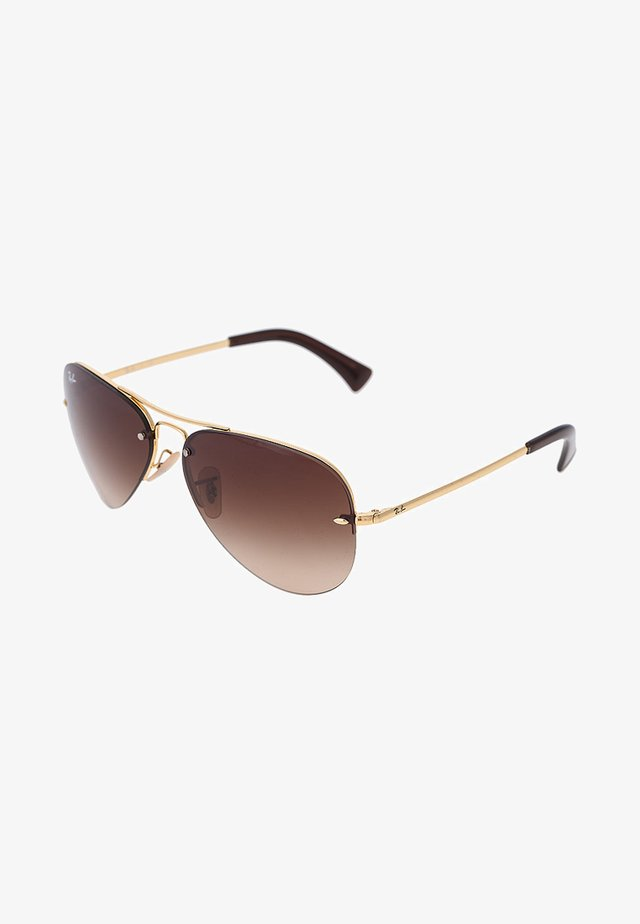 Sunglasses - gold/brown