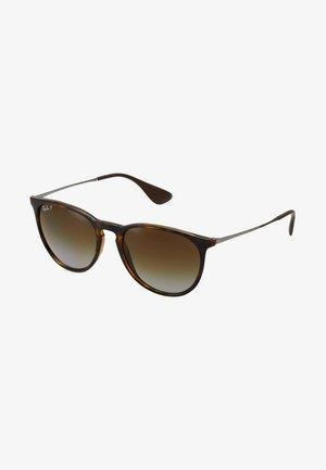 ERIKA - Sunglasses - havana polar brown