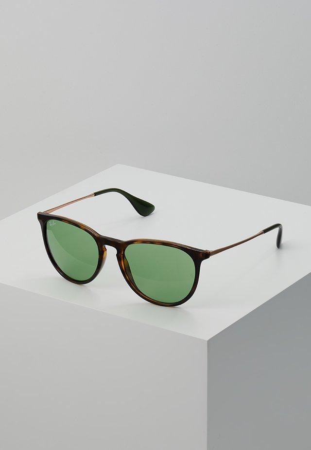 ERIKA - Solglasögon - brown/light green