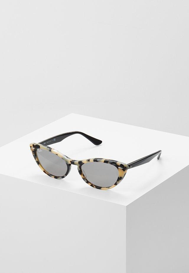 Sonnenbrille - havana beige