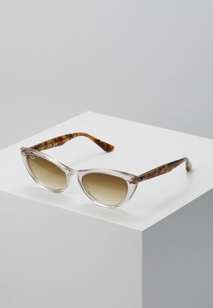Sonnenbrille - transparent/light brown