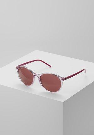 Aurinkolasit - trasparent/pink