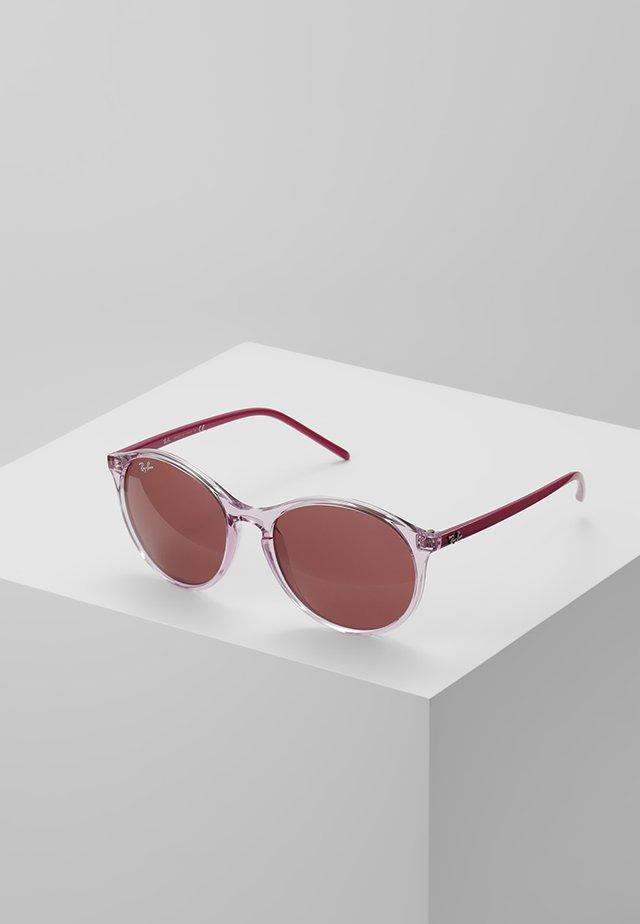 Sunglasses - trasparent/pink