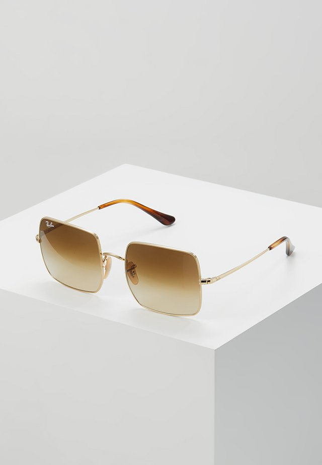SQUARE - Gafas de sol - gold-coloured