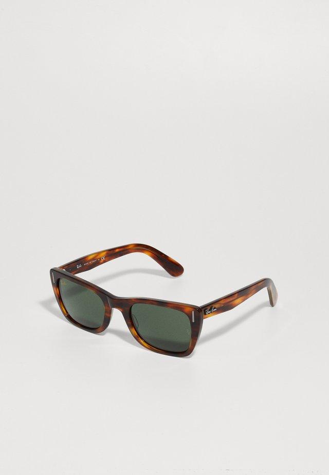 CARIBBEAN - Sunglasses - striped havana