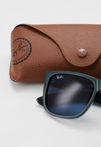 Ray-Ban - JUSTIN - Occhiali da sole - green metallic/black - 2