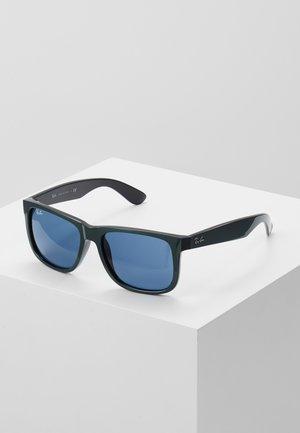 JUSTIN - Sunglasses - green metallic/black