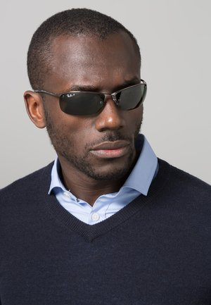 TOP BAR - Sunglasses - black