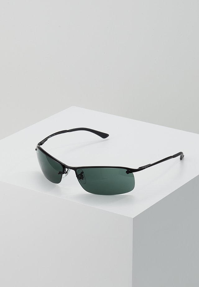 TOP BAR - Sunglasses - black green