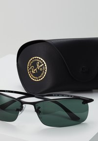 Ray-Ban - TOP BAR - Solbriller - black green - 3