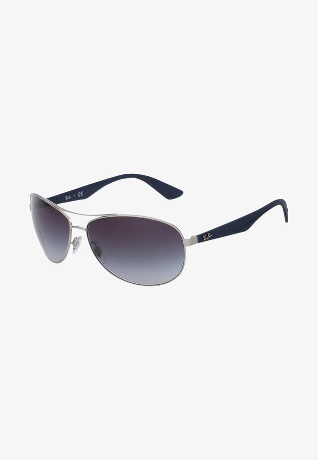 Sunglasses - silberfarben/blau