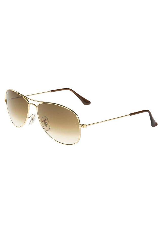 COCKPIT - Solglasögon - goldfarben/braun