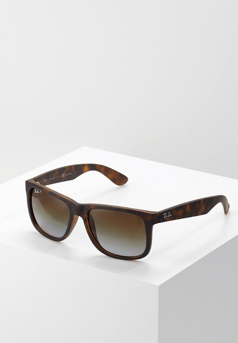 Ray-Ban - JUSTIN - Solbriller - polar brown/ havana