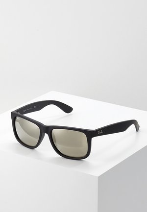 JUSTIN - Sonnenbrille - light brown mirror gold/black