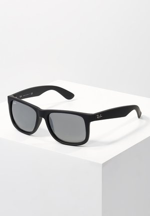JUSTIN - Sonnenbrille - black/grey mirror