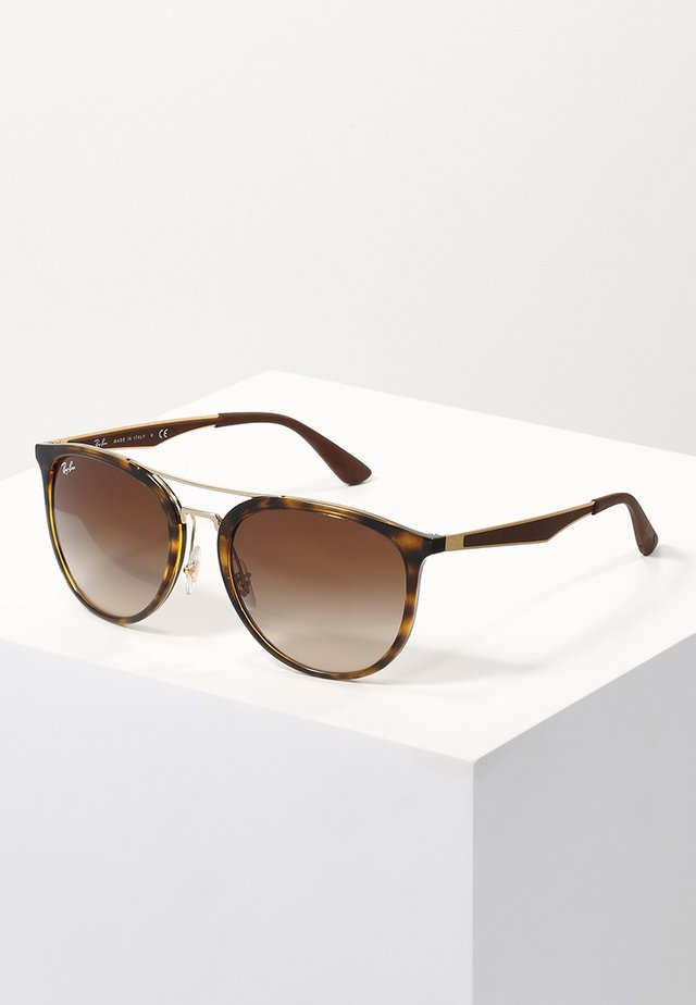 Sunglasses - havana/brown gradient
