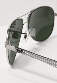 Ray-Ban - Okulary przeciwsłoneczne - silver/crystal grey mirror - 2