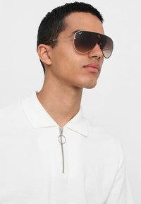 Ray-Ban - Solbriller - silver-coloured/gold-coloured/brown gradient - 1