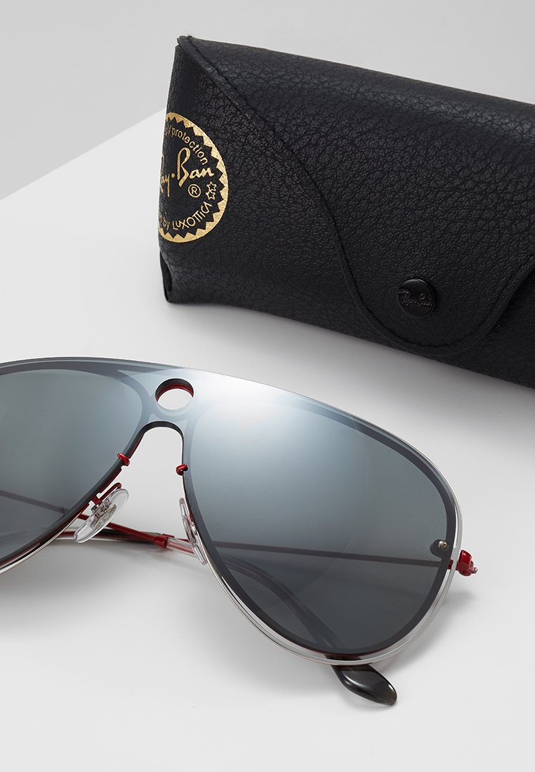 Lunettes colured grey Ray Mirror ban De silver SoleilRed EDHeW29YI