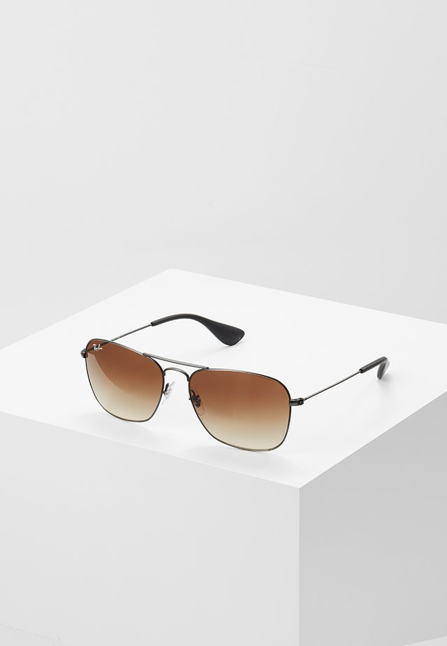 Sunglasses - matte black antique