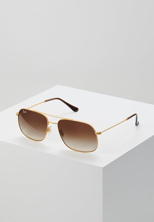 ANDREA - Sunglasses - gold-coloured