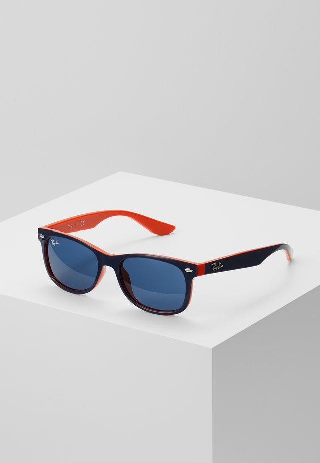 JUNIOR NEW WAYFARER - Okulary przeciwsłoneczne - blue/orange