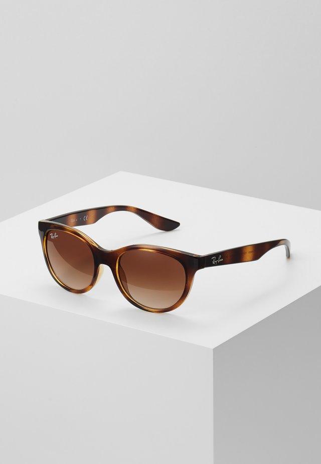 JUNIOR SQUARE - Solglasögon - brown