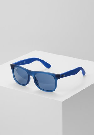 JUNIOR SQUARE - Sunglasses - blue