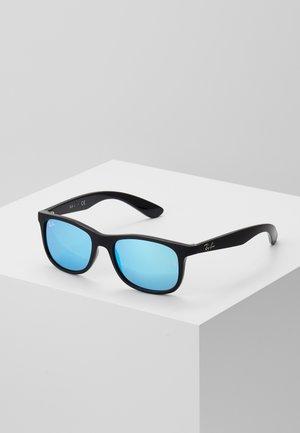 JUNIOR SQUARE - Sunglasses - black