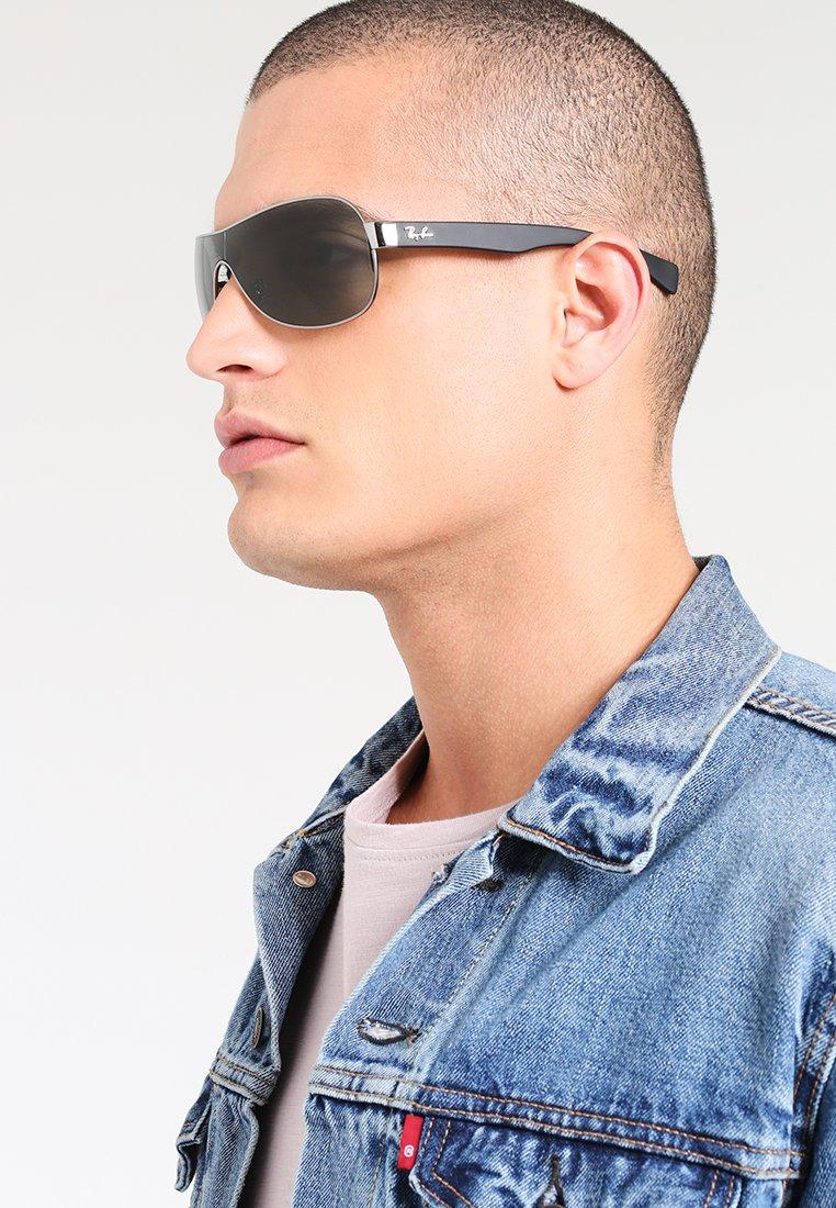 Ray-Ban - Sunglasses - silver/black/green