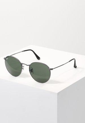 ROUND - Sonnenbrille - gunmetal/crystal green