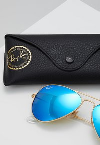 Ray-Ban - ROUND - Gafas de sol - gold-coloured/blue - 2