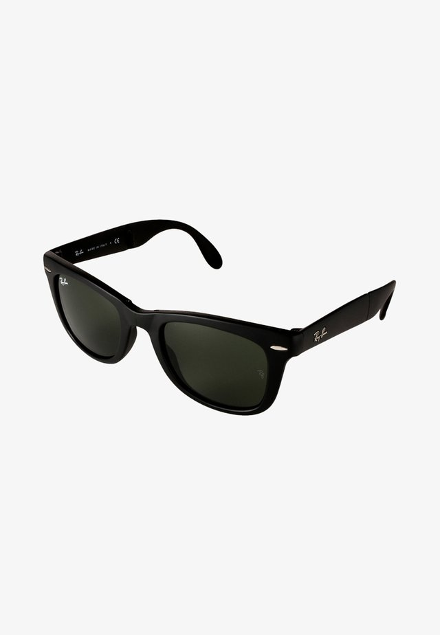FOLDING WAYFARER - Solglasögon - black