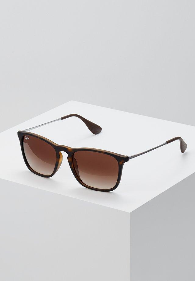 CHRIS - Sluneční brýle - brown