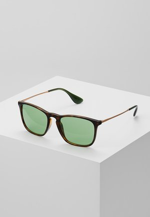 CHRIS - Sonnenbrille - havana green