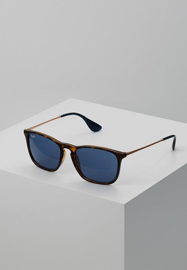 CHRIS - Sunglasses - black/blue